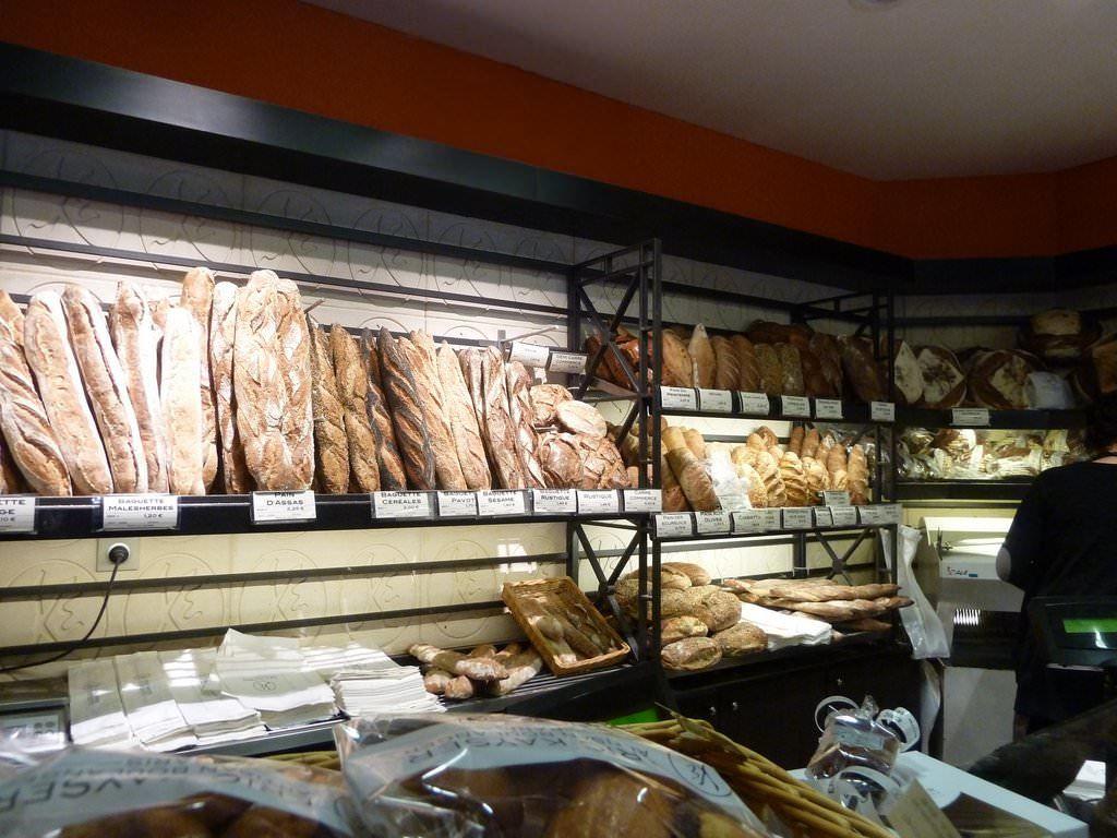 Eric Kayser's Bread Selection